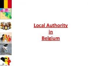 Local Authority in Belgium Identity card of Belgium