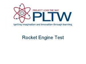 Rocket Engine Test Engine Test Configuration Engine blast