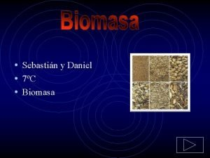 Sebastin y Daniel 7C Biomasa Qu es biomasa