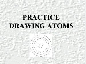 PRACTICE DRAWING ATOMS DRAWING ATOMS RULES PROTONS Atomic