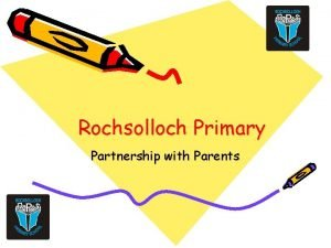 Rochsolloch Primary Partnership with Parents Partnership with Parents