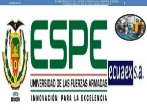 08032021 ELABORADO POR XAVIER SANTIAGO SIERRA SUPERVISADO POR