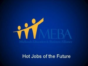 Hot Jobs of the Future Jobs in South