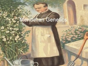 Mendelian Genetics Chapter 10 Sexual Reproduction and Genetics