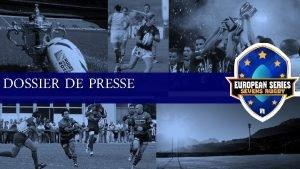 DOSSIER DE PRESSE le Rugby a sept Le