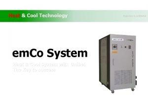 Heat Cool Technology em Co System Heat Cool