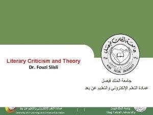 Lecture 10 Author Critiques 1 Michel Foucault What