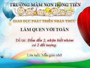TRNG MM NON HNG TIN LM QUEN VI