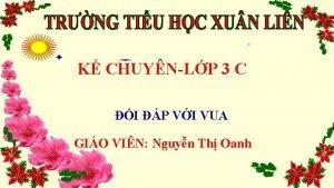 K CHUYNLP 3 C I P VI VUA