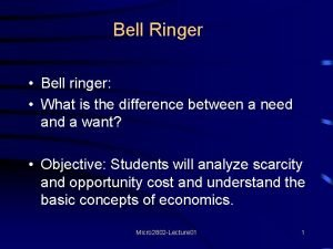 Bell Ringer Bell ringer What is the difference
