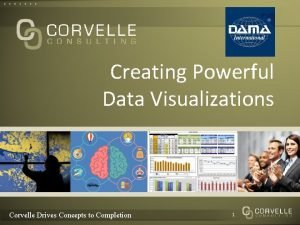 Creating Powerful Data Visualizations Corvelle Drives Concepts to
