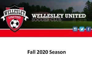 Fall 2020 Season Agenda BAYS Fall Season Covid19