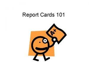 Report Cards 101 ELD Progress Report Cards Complete
