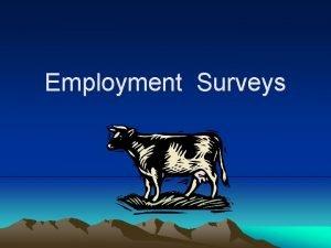 Employment Surveys WHATS FULL EMPLOYMENT OFFICIAL DEFINITION ECONOMIC