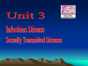 Words To know Infectious Disease disease caused by