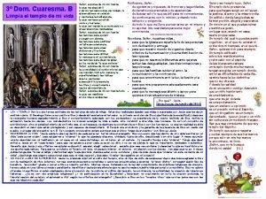 3 Dom Cuaresma B Limpia el templo de