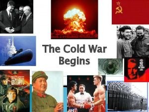 The Cold War Begins Post War Issues Europe