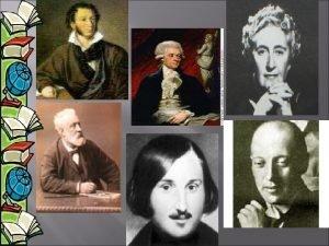 Thomas Jefferson Alexander Pushkin Lewis Carroll Nikolai Gumiliov