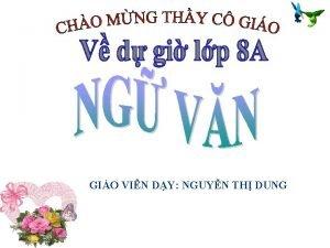 GIO VIN DY NGUYN TH DUNG KIM TRA