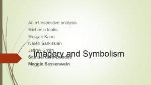 An introspective analysis Michaela teolis Morgan Kane Nareh