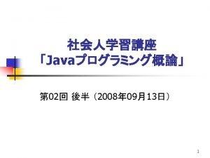 14 1 appletJava import java applet Applet import