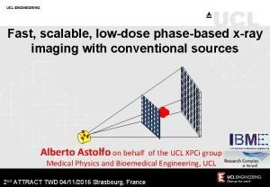 Fast scalable lowdose phasebased xray imaging with conventional