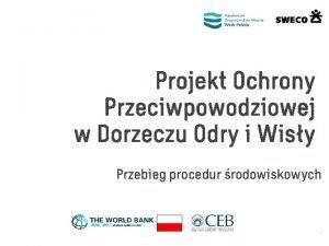 Projekt Ochrony Przeciwpowodziowej w Dorzeczu Odry i Wisy