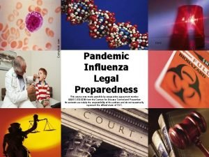 Comstock com CDC Pandemic Influenza Legal Preparedness This