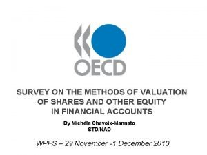 SURVEY ON THE METHODS OF VALUATION OF SHARES