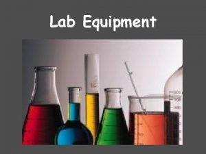 Lab Equipment Lab Coat or Lab Apron Beakers