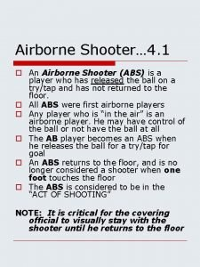 Airborne Shooter 4 1 o An Airborne Shooter