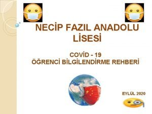 NECP FAZIL ANADOLU LSES COVD 19 RENC BLGLENDRME