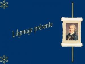 Emmanuel Kant n le 22 avril 1724 Knigsberg