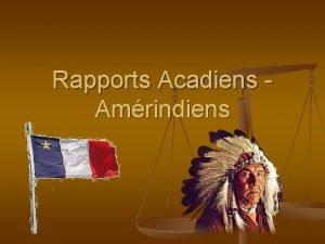 Rapports Acadiens Amrindiens Activit n Connaissezvous certains groupes