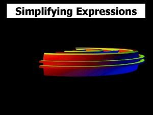 Simplifying Expressions T Madas Simplifying Expressions a a