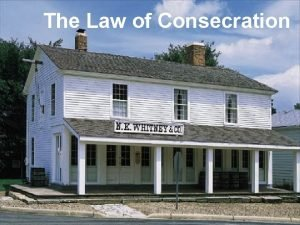 The Law of Consecration President Hinckley Saturday Morning