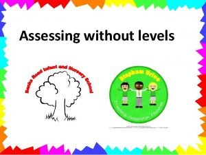 Assessing without levels Why Assess Knowing how each