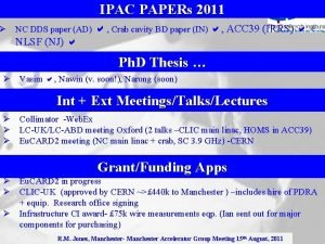 IPAC PAPERs 2011 NC DDS paper AD Crab