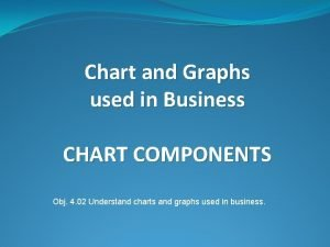 Chart and Graphs used in Business CHART COMPONENTS