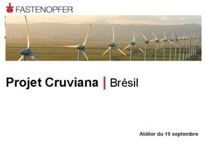 Brsil Projet Cruviana Brsil Atlier du 19 septembre