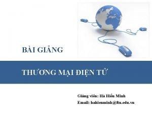 BI GING THNG MI IN T Ging vin