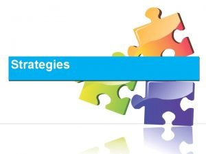 Strategies Strategies Learning Strategies Metacognitive Cognitive Scaffolding Techniques