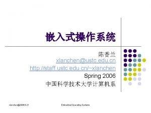 xlanchenustc edu cn http staff ustc edu cnxlanchen