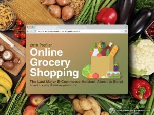 Online Grocery Shopping to Enter Mainstream Sooner Than