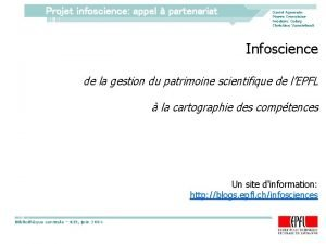 Projet infoscience appel partenariat David Aymonin Pierre Crevoisier