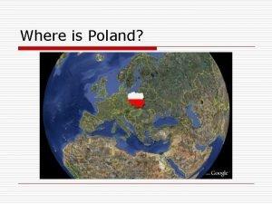 Where is Poland POLAND national symbols coat of