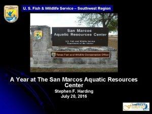 U S Fish Wildlife Service Southwest Region A