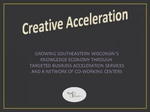 GROWING SOUTHEASTERN WISCONSINS KNOWLEDGE ECONOMY THROUGH TARGETED BUSINESS
