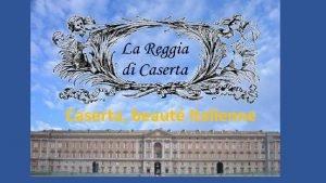 Caserta beaut Italienne Caserta ville de la province