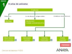 UNIDADE 1 A orixe do universo O universo